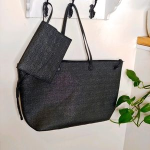 Foley + Corinna Large Tote with Wristlet NWOT